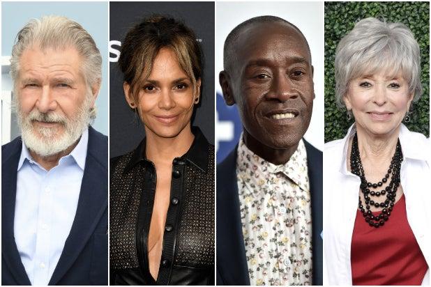 Harrison Ford Halle Berry Don Cheadle Rita Moreno Oscars