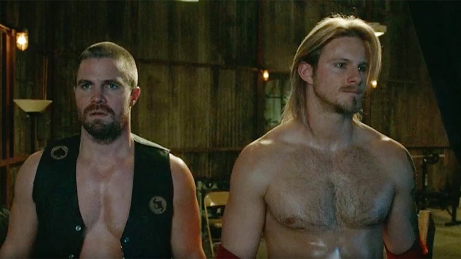 'Heels' Trailer: Stephen Amell and Alexander Ludwig Star as Small-Town Pro Wrestlers (Video) thumbnail