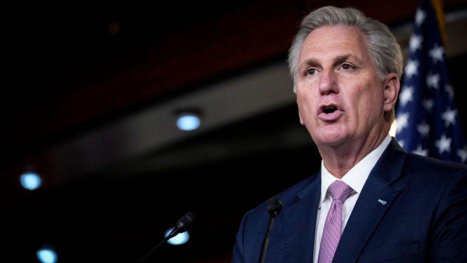 House Minority Leader McCarthy Holds Weekly Press Briefing