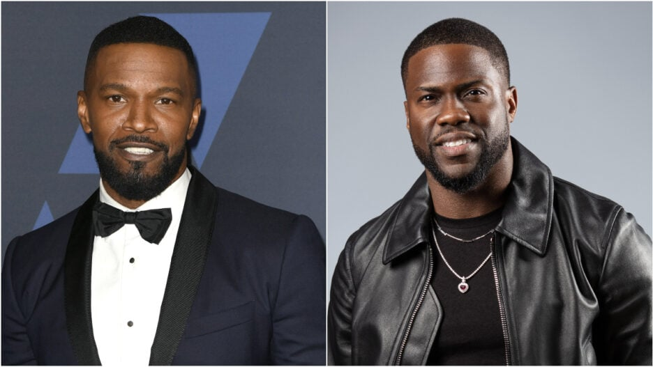 Jamie Foxx Kevin Hart Number One on the Call Sheet