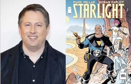 Joe Cornish Starlight Mark Millar