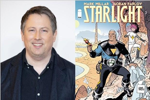 Joe Cornish Starlight Mark Millar