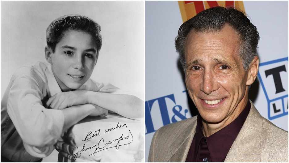 Johnny Crawford Young and Old