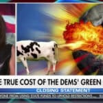 Judge Jeanine PIrro farting cow
