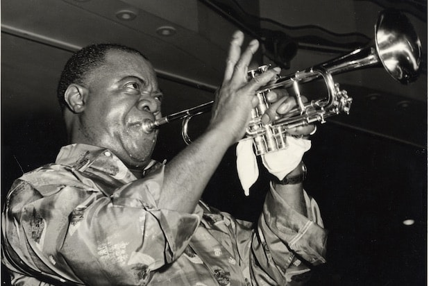 Louis Armstrong Black & Blues
