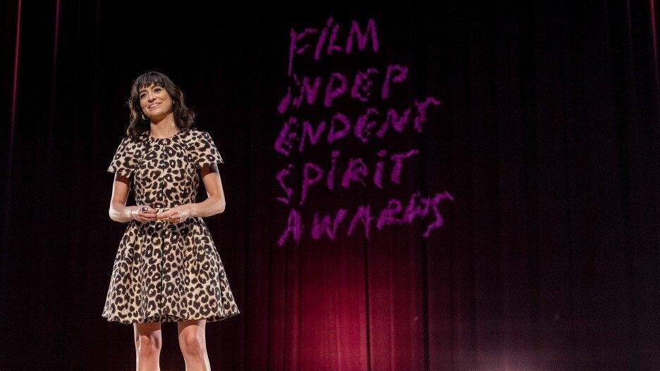 Melissa Villasenor at Film Independent Spirit Awards