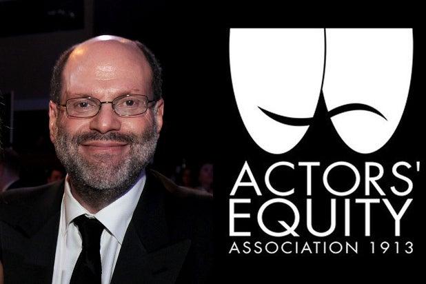 Scott rudin actors equity