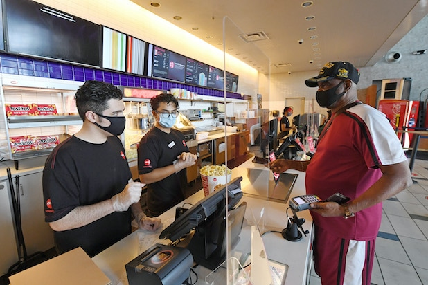 AMC theaters reopen