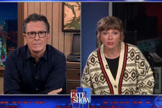 Taylor Swift (Unconvincingly) Insists Her 2008 Song 'Hey Stephen' Isn't About Stephen Colbert (Video).jpg