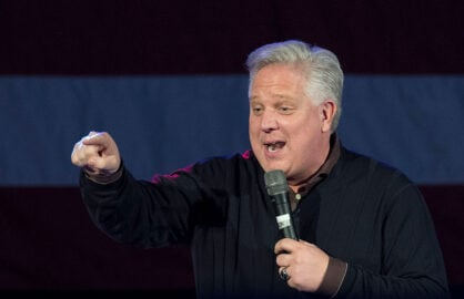 Ted Cruz Holds Campaign Rally With Glenn Beck In Oklahoma City