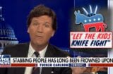 Tucker Carlson Bryant Shooting Stabbing Democrats