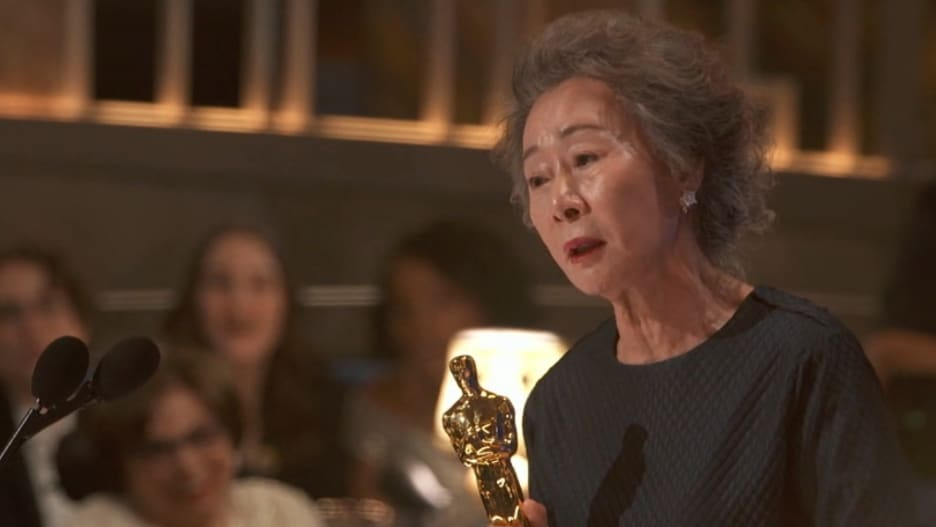 Yuh-Jung Youn 2021 Oscars