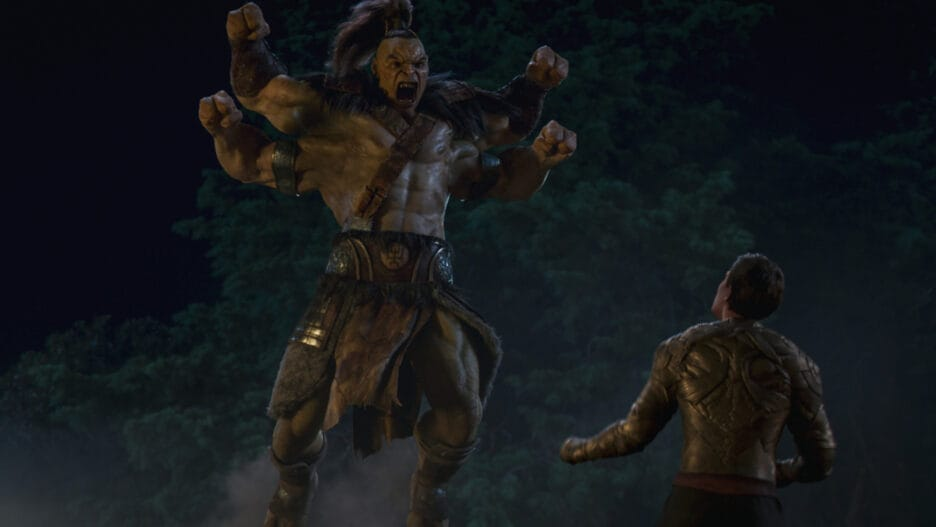 does mortal kombat have a post-credits scene