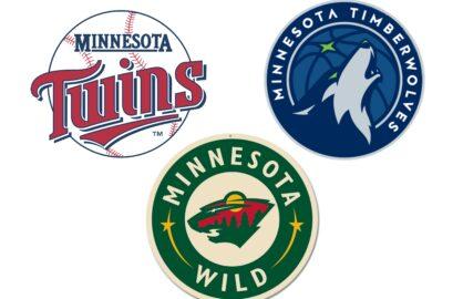 Minnesota Twins Timberwolves Wild