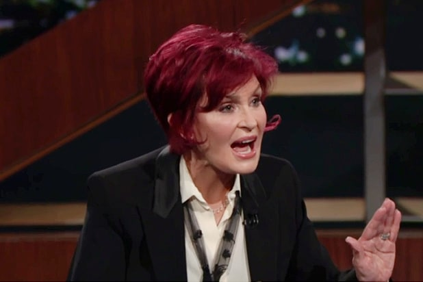 Sharon Osbourne Tells Bill Maher 'I Will Not Take' Being Called a Racist (Video)