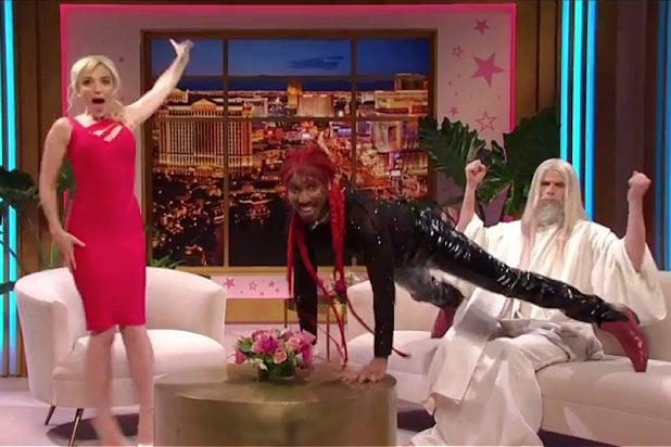 'SNL': Lil Nas X Gives God an Easter Lap Dance (Video).jpg