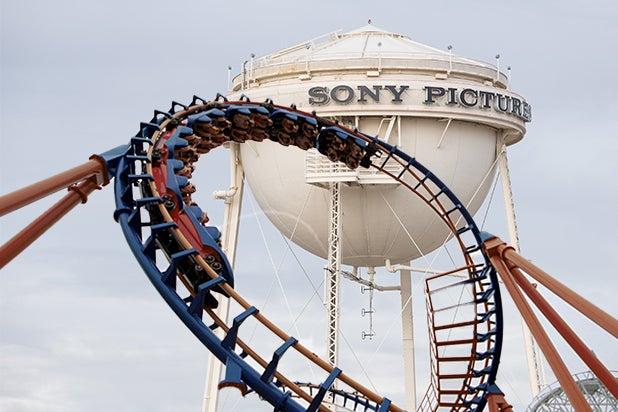 sony theme park roller coaster