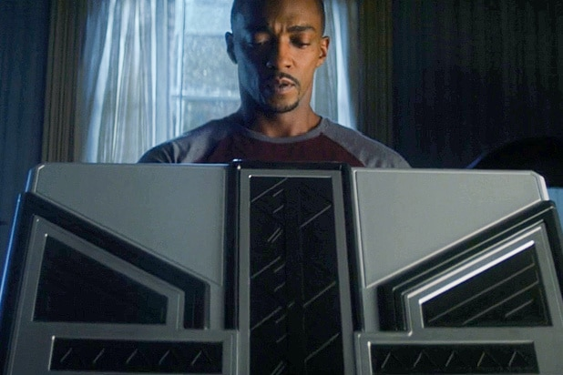 the falcon and the winter soldier what's in the box