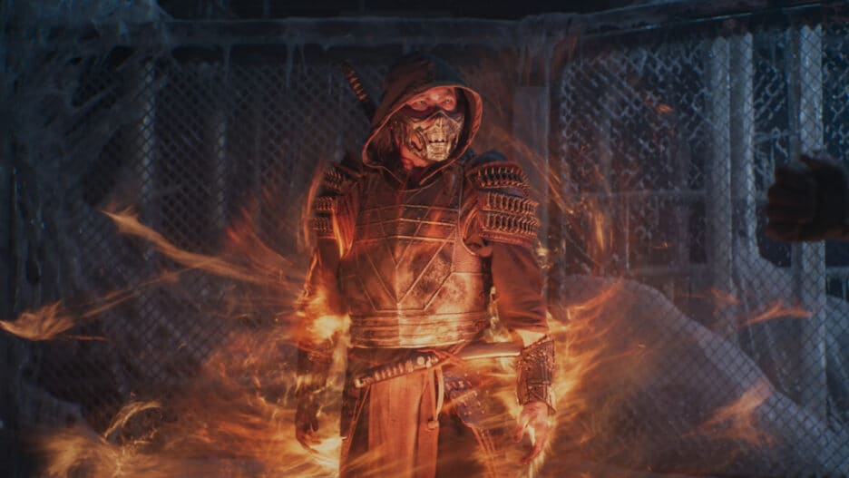 what happened to scorpion at the end of mortal kombat