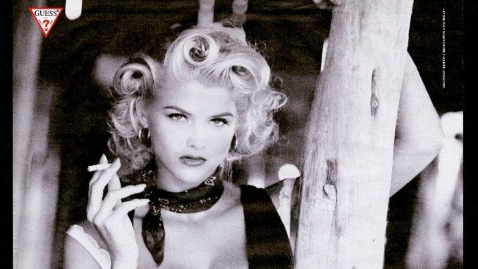 Anna Nicole Smith Marilyn Monroe Guess 1