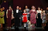 """Annie"" Broadway Opening Night - Arrivals And Curtain Call"