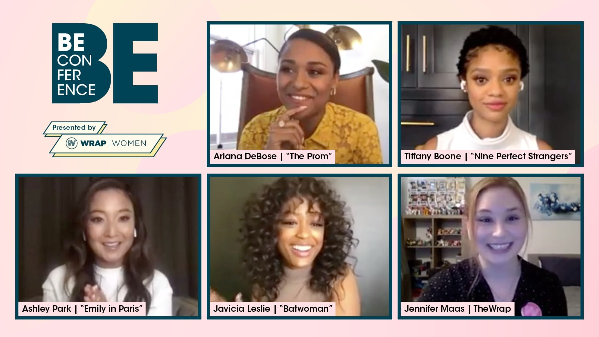 Ariana DeBose, Tiffany Boone, Javicia Leslie and Ashley Park Hope Hollywood's Diversity Push Isn't 'Just a Wave' (Video).jpg