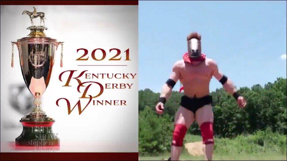Colbert Late Show Medina Spirit Kentucky Derby
