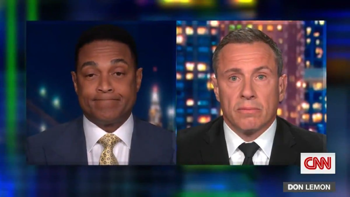 Even Don Lemon Calls Out Chris Cuomo for Having Rick Santorum as a Guest (Video) thumbnail
