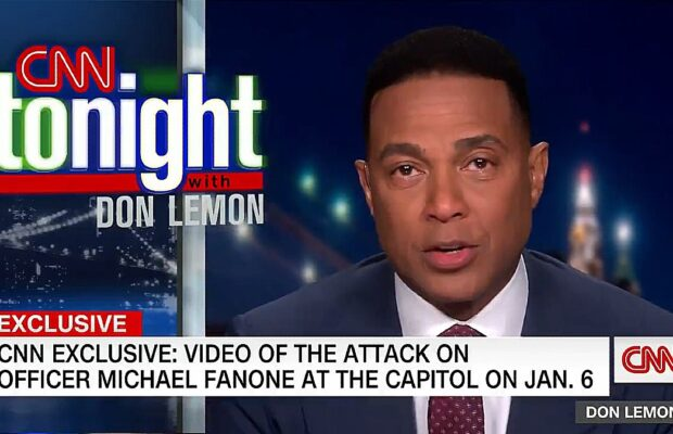 Don Lemon Tears Up Over MAGA Riot Footage CNN