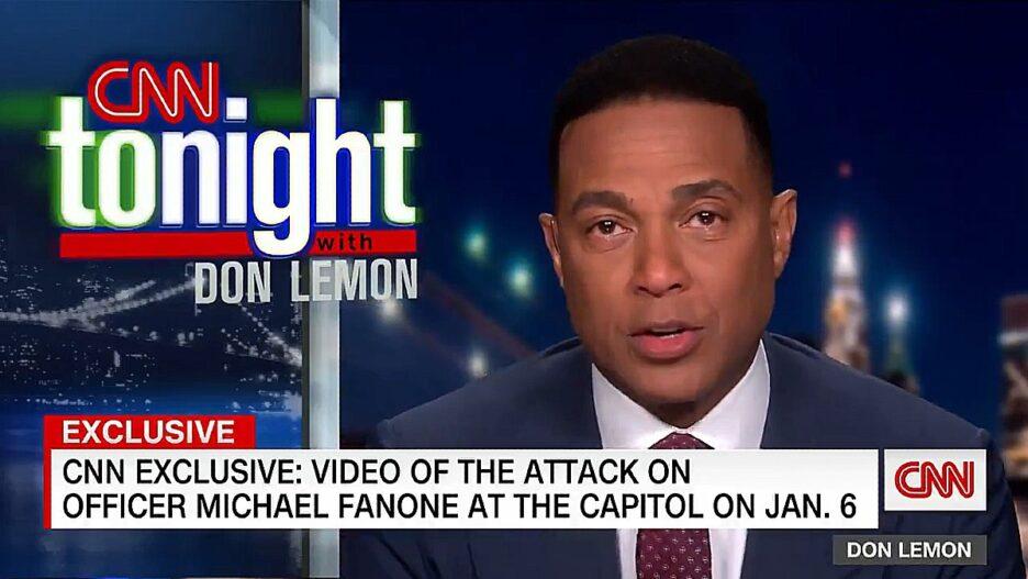 Don Lemon Tears Up Over MAGA Riot Footage CNN