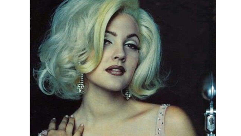Drew Barrymore Marilyn Monroe 1