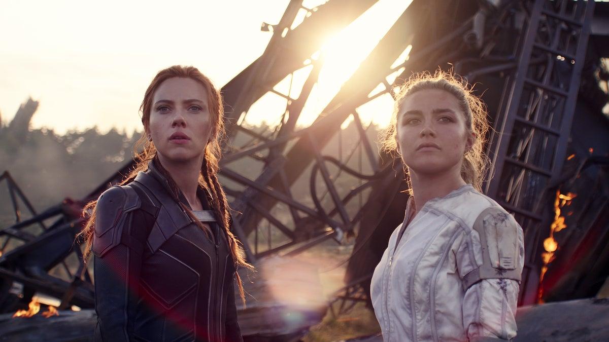 'Black Widow': Scarlett Johansson and Florence Pugh Slide Down Russian Rooftops in Slick Chase Scene (Video).jpg
