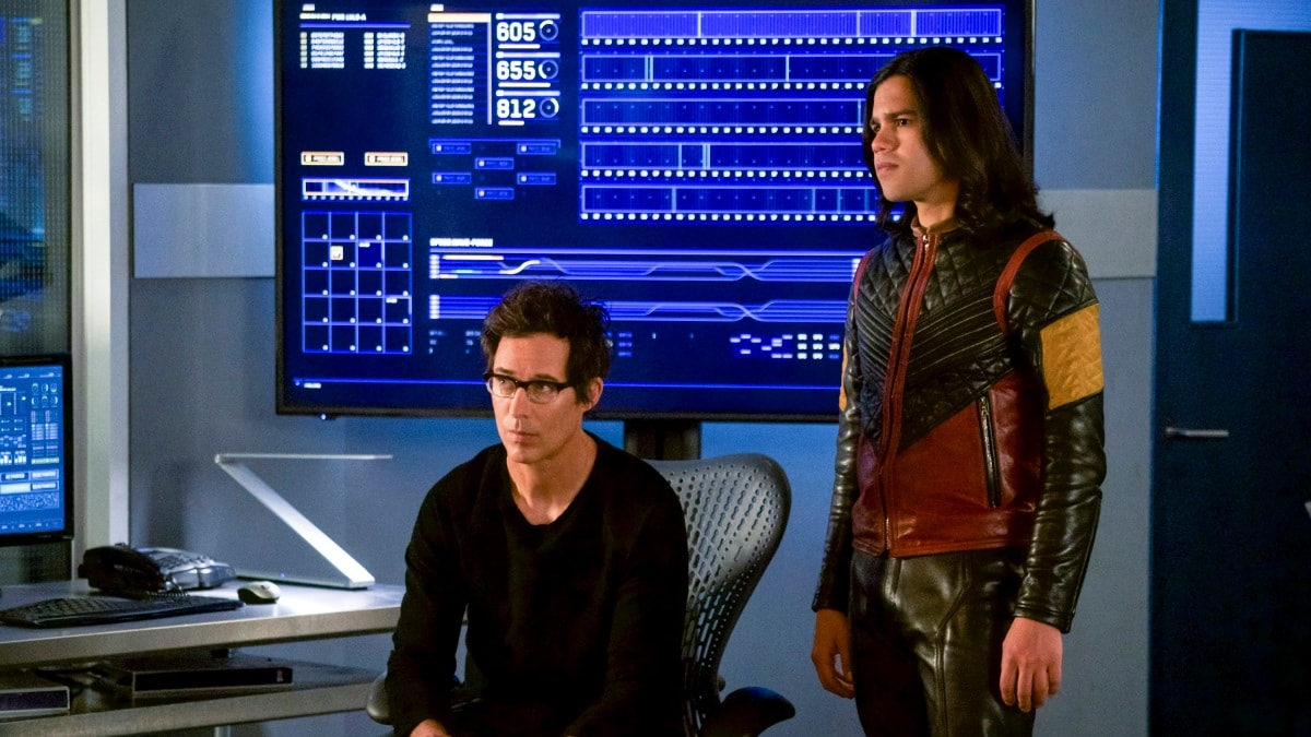 'The Flash': Tom Cavanagh and Carlos Valdes to Depart After Season 7.jpg