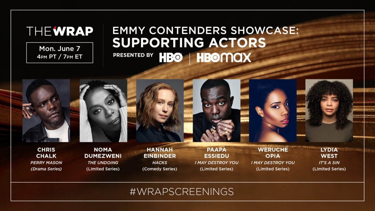 HBO Supporting Actors Showcase Panel slide