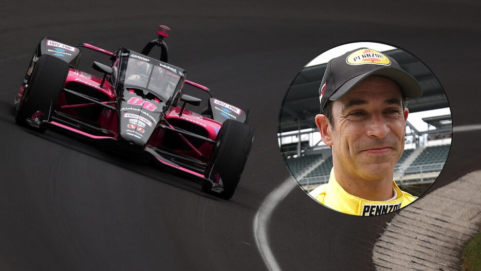 Helio Castroneves Indy 500 2021