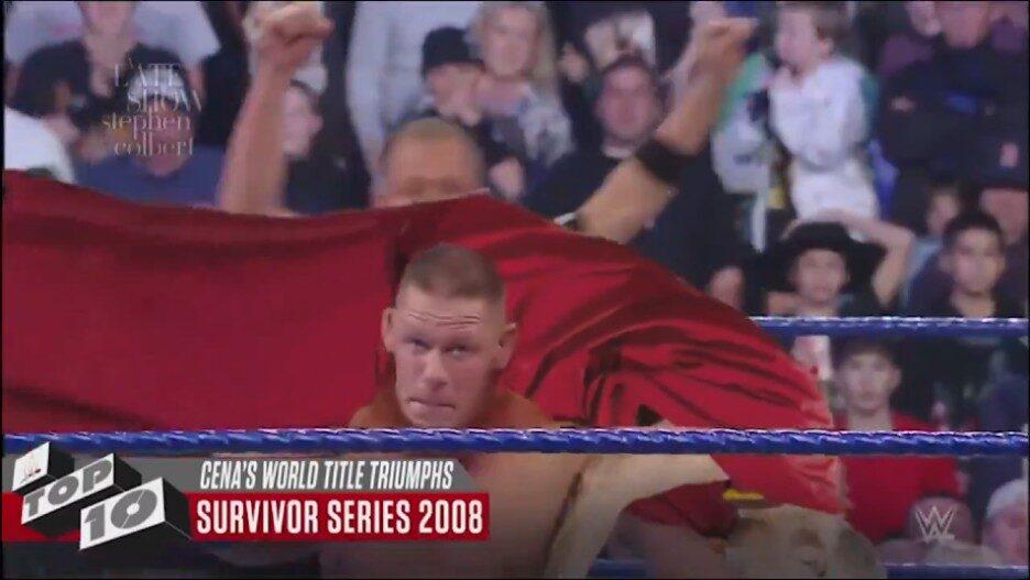 John Cena Body Slams Dalai Lama