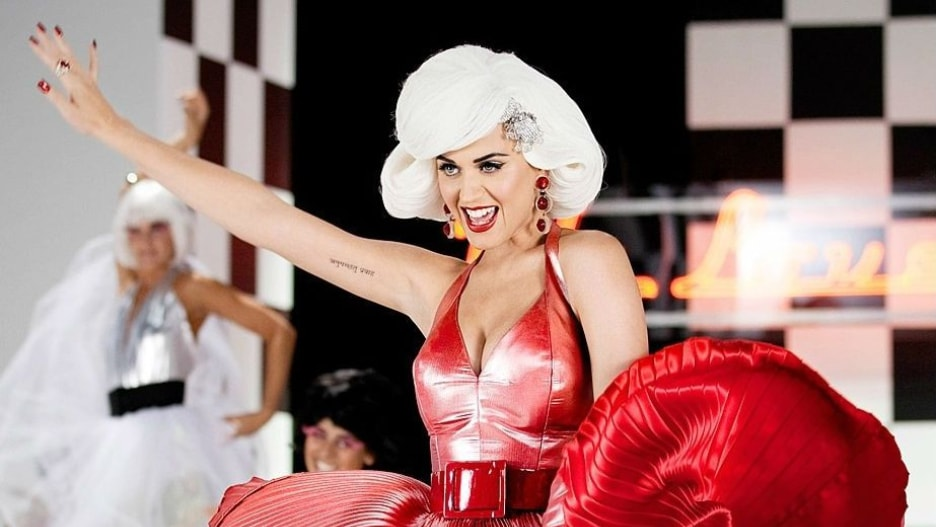 Katy Perry Marilyn Monroe