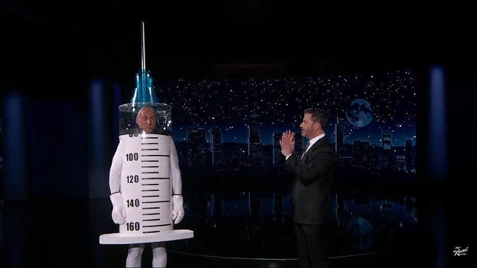 Jimmy Kimmel Interviews a COVID Vaccine That Is Also an Antivaxxer (Video).jpg