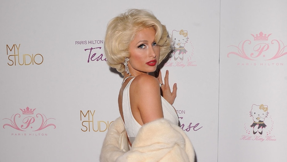 Paris Hilton Marilyn Monroe