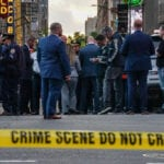 Police Respond To Shooting In Times Square in New York City
