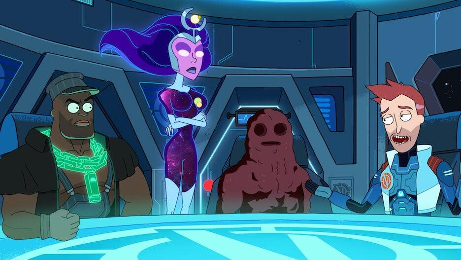 Vindicators Adult Swim Rick and Morty