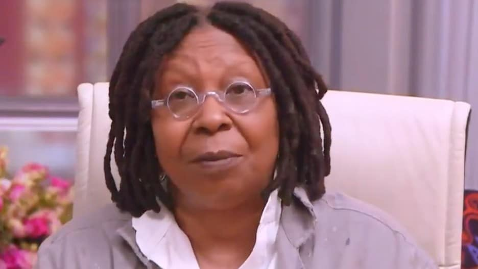 'The View' Co-Host Whoopi Goldberg Praises Biden's First Months in Office: 'He's Taking Care of Business' (Video).jpg