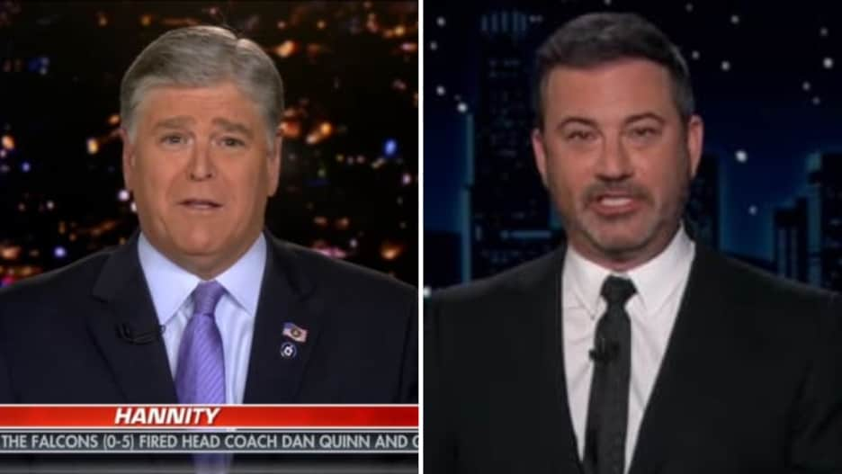 Hannity Claps Back at Jimmy Kimmel: No, You're the 'Ignorant Asshole' (Video).jpg