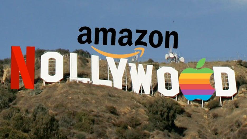 big tech nollywood amazon netflix apple