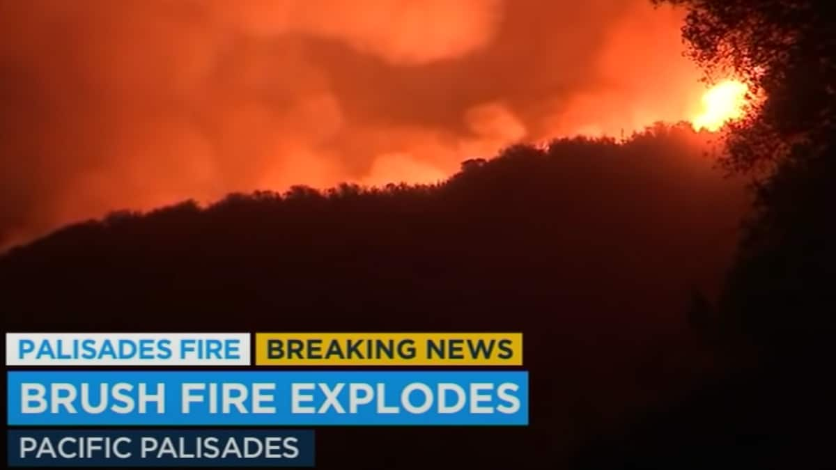 Palisades Fire Forces 1,000 Residents to Evacuate in Topanga Canyon