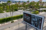 pandemic empty paramount lot netflix billboard