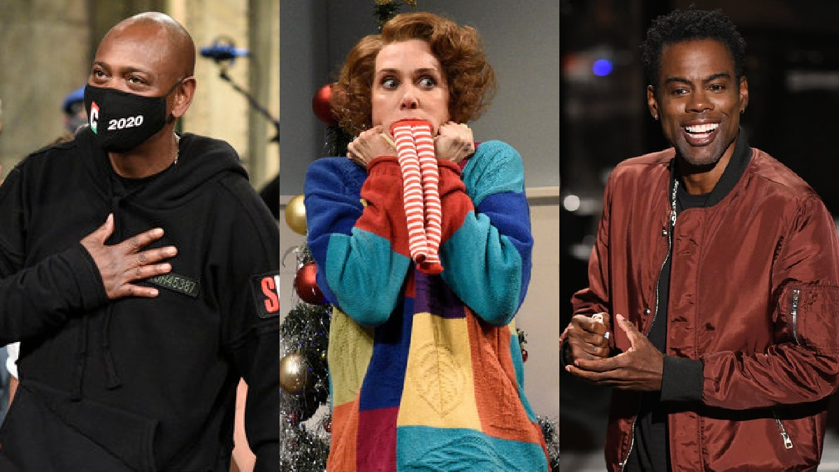 snl hosts season 46 dave Chappelle kristen wiig chris rock