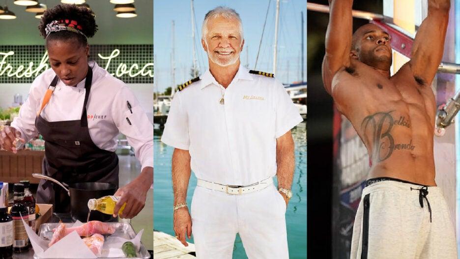 top chef american ninja warrior below deck