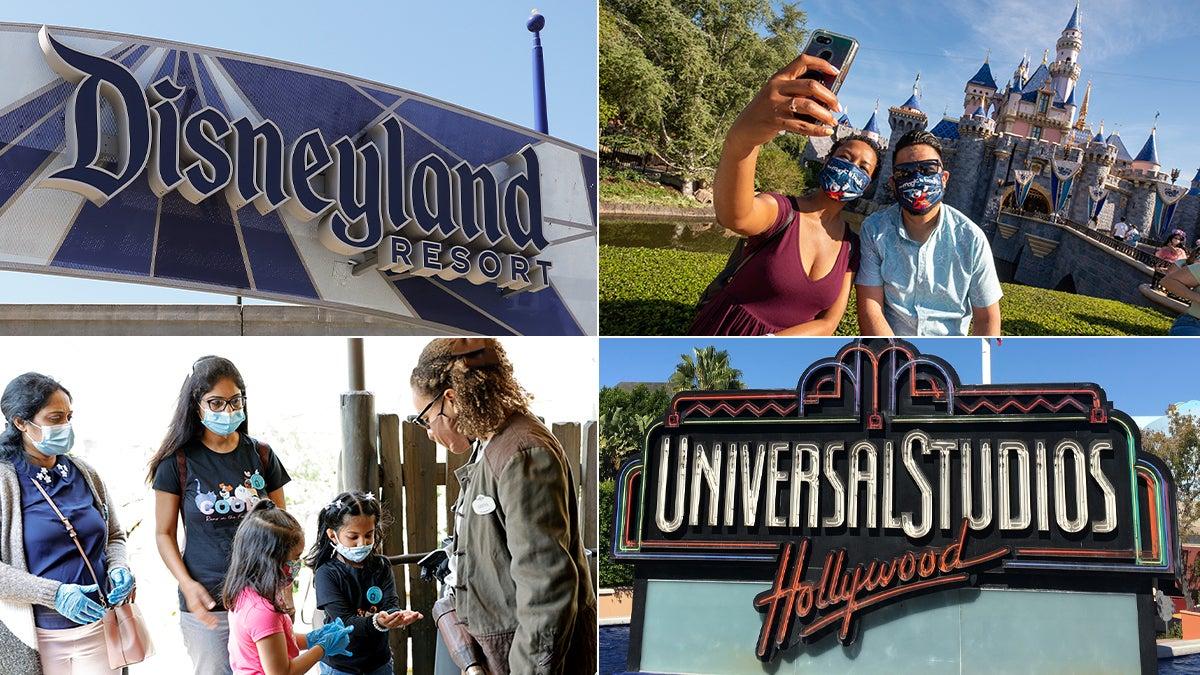 theme parks pandemic