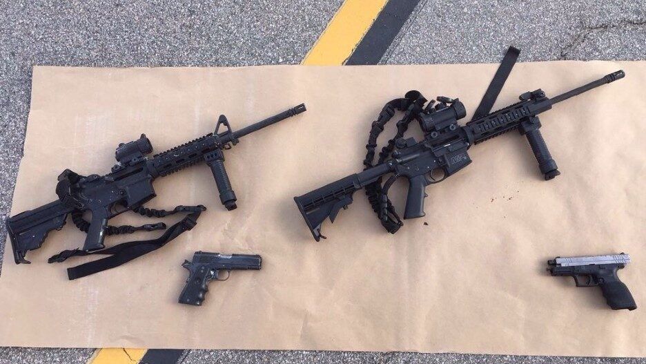 2015 San Bernardino Mass Shooting Confiscated Weapons